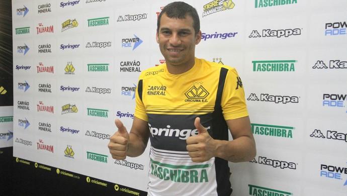 Neto Baiano Criciúma (Foto: Fernando Ribeiro/www.criciumaec.com.br)