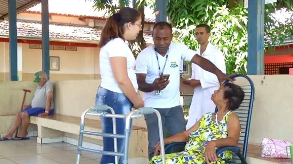 Abrigo acolhe 20 idosos em Porto Nacional (Foto: Reprodução/TV Anhanugera)