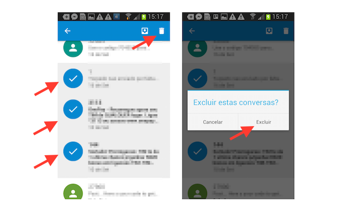 Como Apagar Fotos Do Face: Google Messenger: Veja Como Apagar Conversas No Android