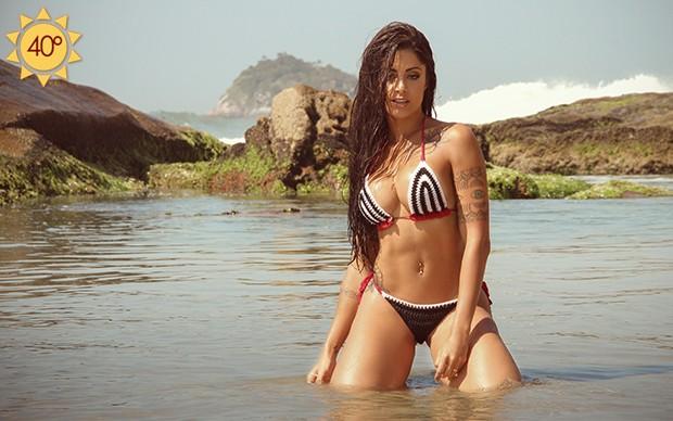 Aline Riscado (Foto: Marcos Ferreira / EGO)