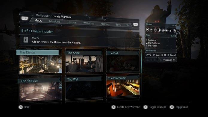 Killzone Shadow Fall: como criar uma sala de jogo no modo multiplayer (Foto: Reprodução/Murilo Molina)