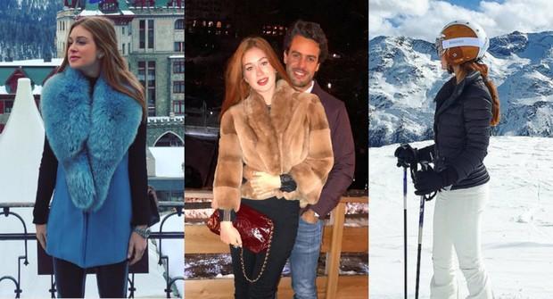 Marina Ruy Barbosa toda estilosa na Suiça (Foto: Reprodução / Instagram)