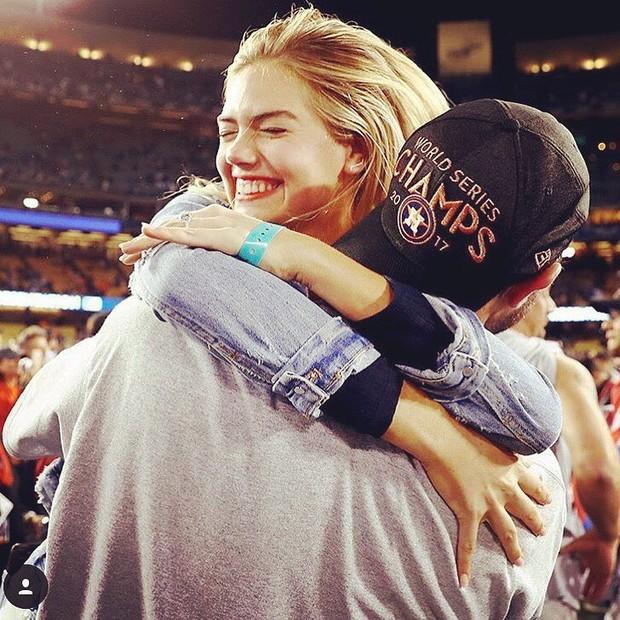 Kate Upton e Justin Verlander (Foto: Reprodução/Instagram)
