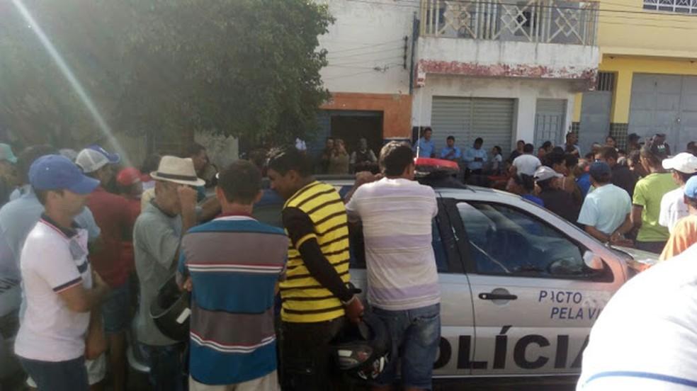 Triplo homicídio em Bodocó (Foto: Arquivo pessoal/ Davi Diniz )