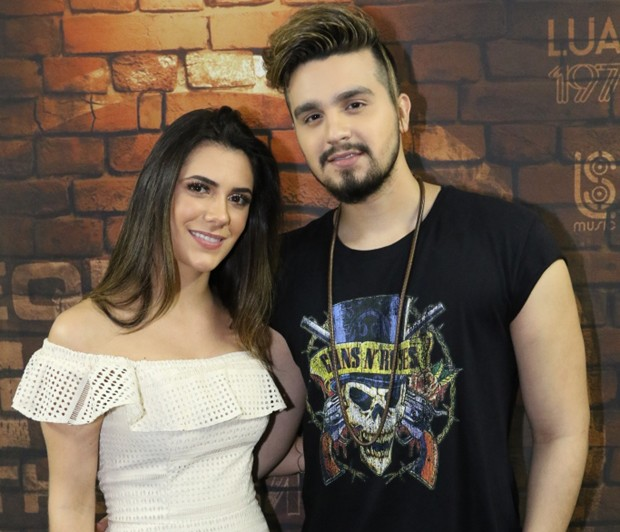 Jade Magalhães e Luan Santana (Foto: Daniel Janssens/Divulgação)