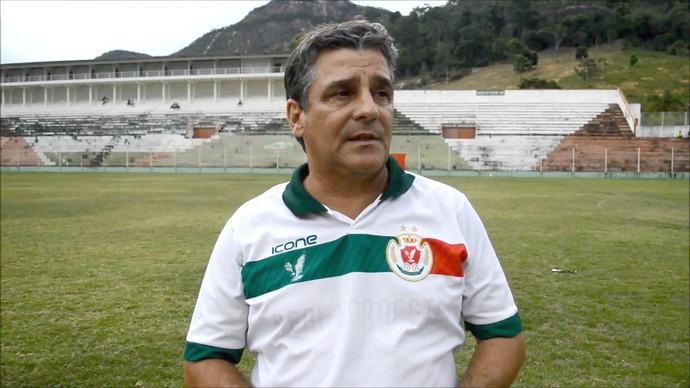 Eduardo Húngaro, técnico do Real Noroeste (Foto: PC Esportes)