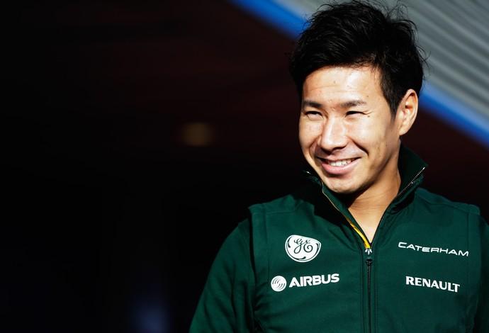 Após um ano de ausência, Kamui Kobayashi está empolgado com seu retorno à Fórmula 1 (Foto: Getty Images)