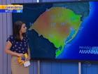 Terça tem previsão de chuva para quase todas as regiões do RS