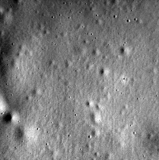 Última imagem da superfície de Mercúrio feita pela sonda Messenger (Foto: Divulgação/Nasa)