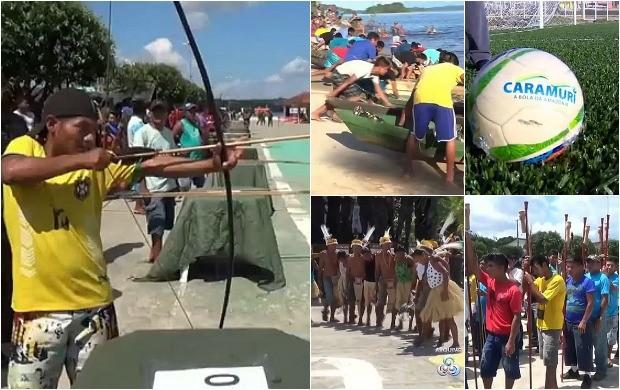 Jogos Indígenas do Amazonas (Foto: Bom Dia Amazônia)