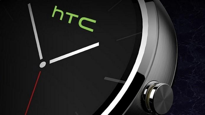 Segundo rumores, smartwatch HTC One Wear teria design redondo (Foto: Reprodução/UnlockUnit)