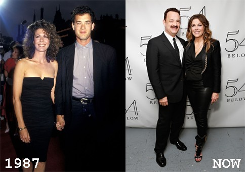 Tom Hanks & Rita Wilson, 1987 (Foto: .)