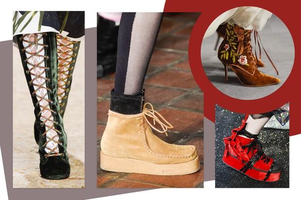 Sapatos Amarração (Foto: Reprodução)
