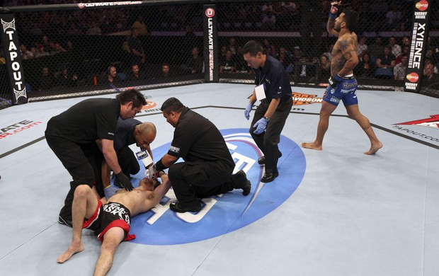 Roland Delorme x Francisco Rivera UFC 149 (Foto: Getty Images)