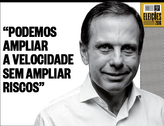 Debates Velocidade João Dória Jr. (Foto: Marcos Rosa/Ed Globo )