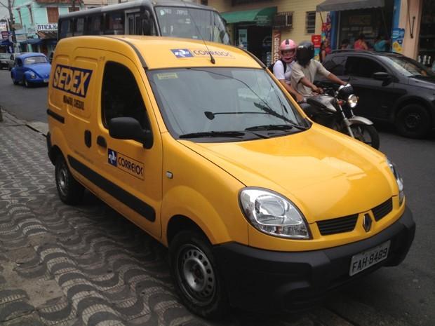 correios  (Foto: Reprodução/TV Tribuna)