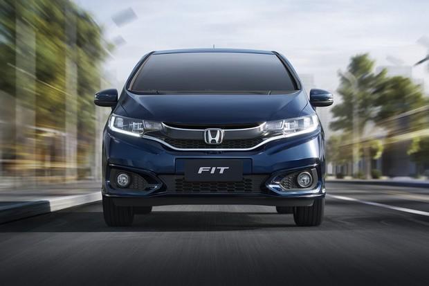 Honda Fit EXL frente (Foto: Divulgação)