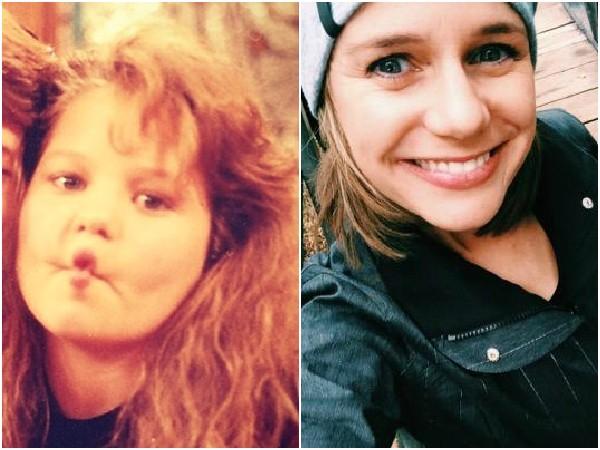 Andrea Barber em 1987 e 2014 – Andrea é outra que fez escola em 'Três é Demais' como Kimmy Gibbler. Hoje em dia, ela não persegue mais a carreira de atriz e tem dois filhos. (Foto: Divulgação/Twitter)