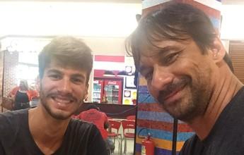 """Ricardo vibra com título do filho no circuito e projeta parceria: """"Mais perto"""""""