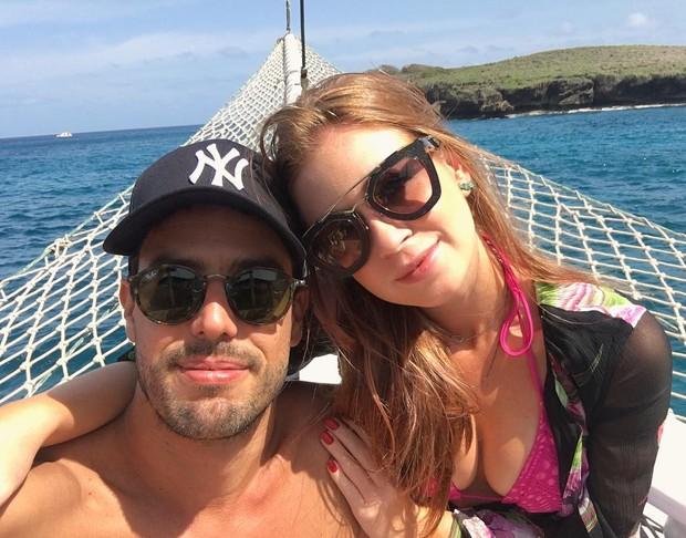 Maria Ruy Barbosa e o namorado (Foto: Reprodução/Instagram)