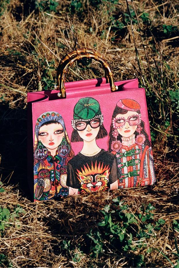 Uma das bolsas da parceria (Foto: Divulgação)