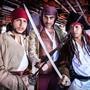 História do Rio é contada por piratas e especialista pela Baía ( Israel Almeida/Divulgação)