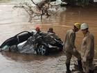 Caminhão que jogou carro em rio e matou 4 trafegou a 160 km/h, em GO