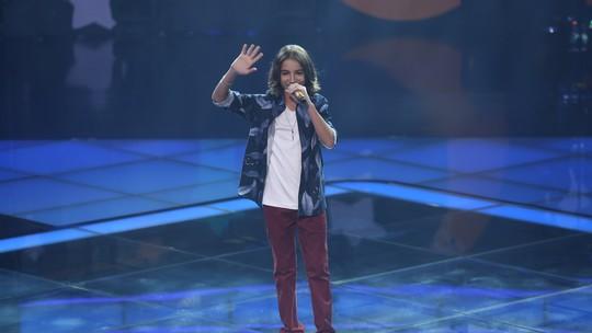 Luis Arthur Seidel se prepara para Semifinal do 'The Voice Kids' e agradece carinho do público: 'A palavra é felicidade'