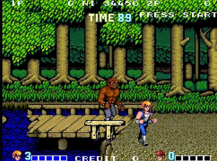 Double Dragon tinha muitos elementos modernos (Foto: Reprodução/Arcade Memory)