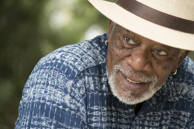 """Morgan Freeman em """"Story of Us"""", novo programa da National Geographic (Foto: reprodução)"""