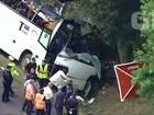 Acidente com ônibus ucraniano deixa mortos na Polônia