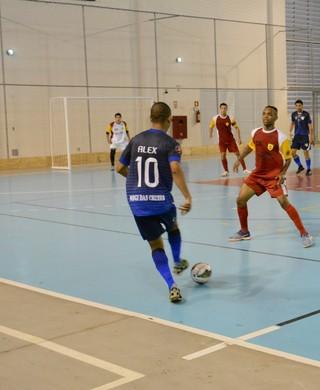 Grêmio Mogi x São Bernardo Liga Paulista de Futsal (Foto: Cairo Oliveira)