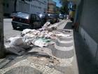 Vereadores de Santos aprovam lei que proíbe jogar lixo nas ruas