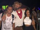 Bruno Gissoni e Yanna Lavigne vão juntos ao festival Coachella, nos EUA