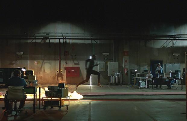 """""""Bolt vs. Flame"""", vídeo promocional feito pela Nissan (Foto: Divulgação)"""