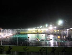 Troca de superfícies da BDQ é feita da noite para o dia (Nike Futebol - Divulgação)