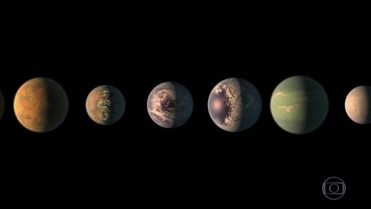 Cientistas descobrem planetas com tamanhos parecidos ao da Terra em sistema a 40 anos-luz