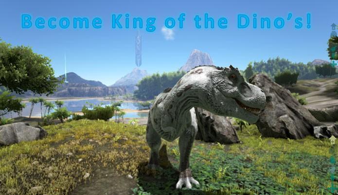 Jogue como um dinossauro no mod Play As Dino! (Foto: Divulgação/Steam Workshop)