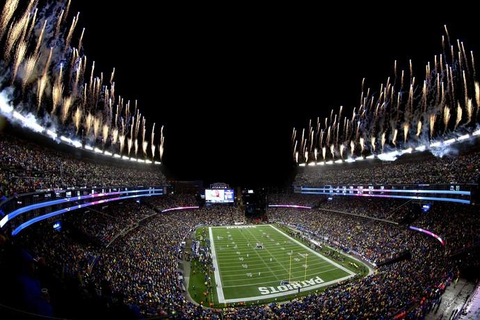 Gillette Stadim New England Patriots NFL (Foto: Mike Lawrie / Getty Images)