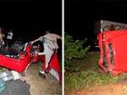 Caminhão e carro batem de frente e casal morre na BR-304, no RN