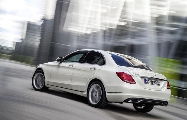 Mercedes Classe C (Foto: Divulgação)