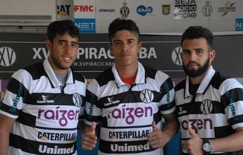 """Trio destaca """"fórmula ideal"""" para o XV ter sucesso ao longo da Copa Paulista"""