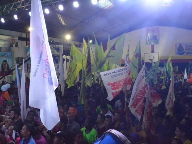 Convenção Aline Gurgel Amapá  (Foto: Abinoan Santiago/G1)