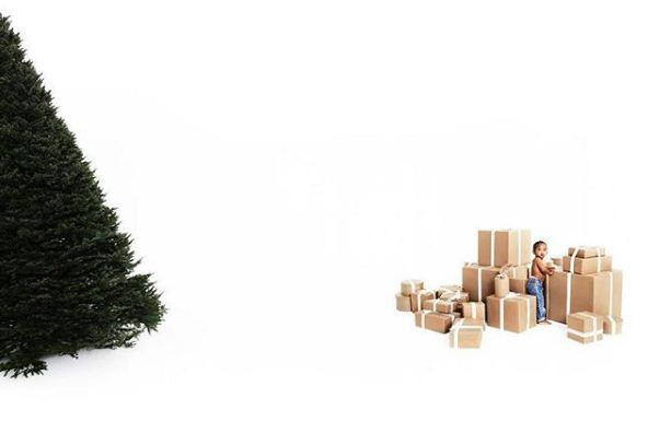 Cartão de Natal das Kardashians (Foto: ELI RUSSELL LINNETZ)