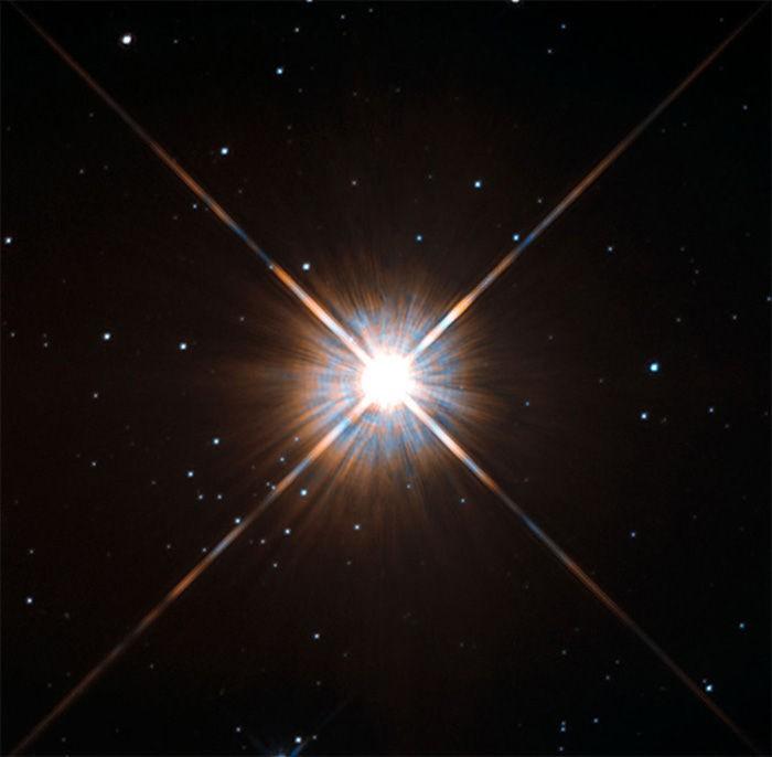 Imagem de Proxima Centauri captada pelo Hubble (Foto: Hubble/NASA)