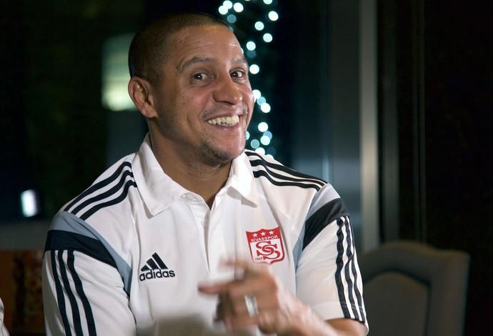 Roberto Carlos entrevista (Foto: Ulisses Neto)