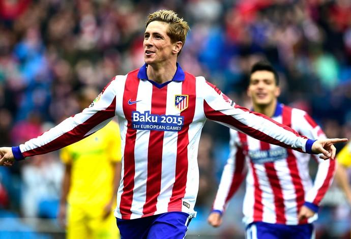 Fernando Torres, Atlético de Madrid X Getafe (Foto: Agência AFP)