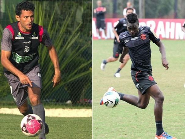 Jogadores treinam para jogo de quarta (Foto: Alexandre Vidal / Fla Imagem / Divulgação / Site Oficial do Figueirense)