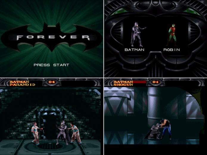 Batman Forever e seu estilo bizarro de gameplay (Foto: Reprodução/Batman Wikia)