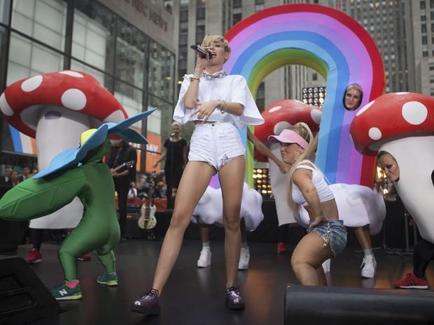 Miley Cyrus (Foto: Carlo Alegrii/Reuters)